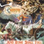 Cover of Cauldron Born - 'Rome Shall Fall'