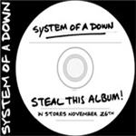 Cover of System Of A Down - 'Steal This Album'