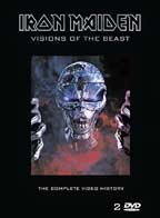 Cover of Iron Maiden - Visions Of The Beast DVD