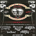 Various Artists - Metal Blade Records 20th Anniversary Party (DVD)