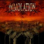 Cover of Immolation - Harnessing Ruin