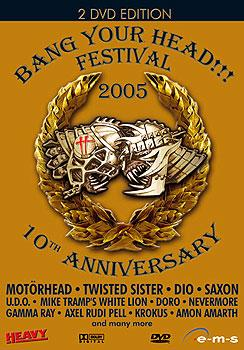 Various Artists - Bang Your Head!!! Festival 2005 (DVD)