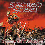 Cover of Sacred Steel  Hammer Of Destruction