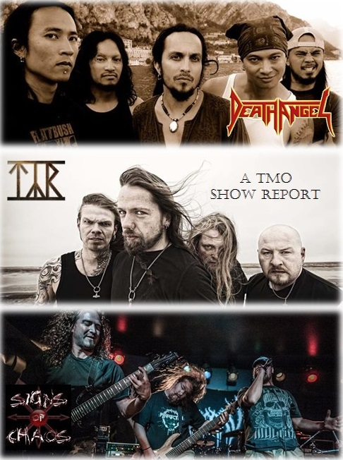 SHOW REPORT: Death Angel, Tyr, & Signs Of Chaos (Ottawa