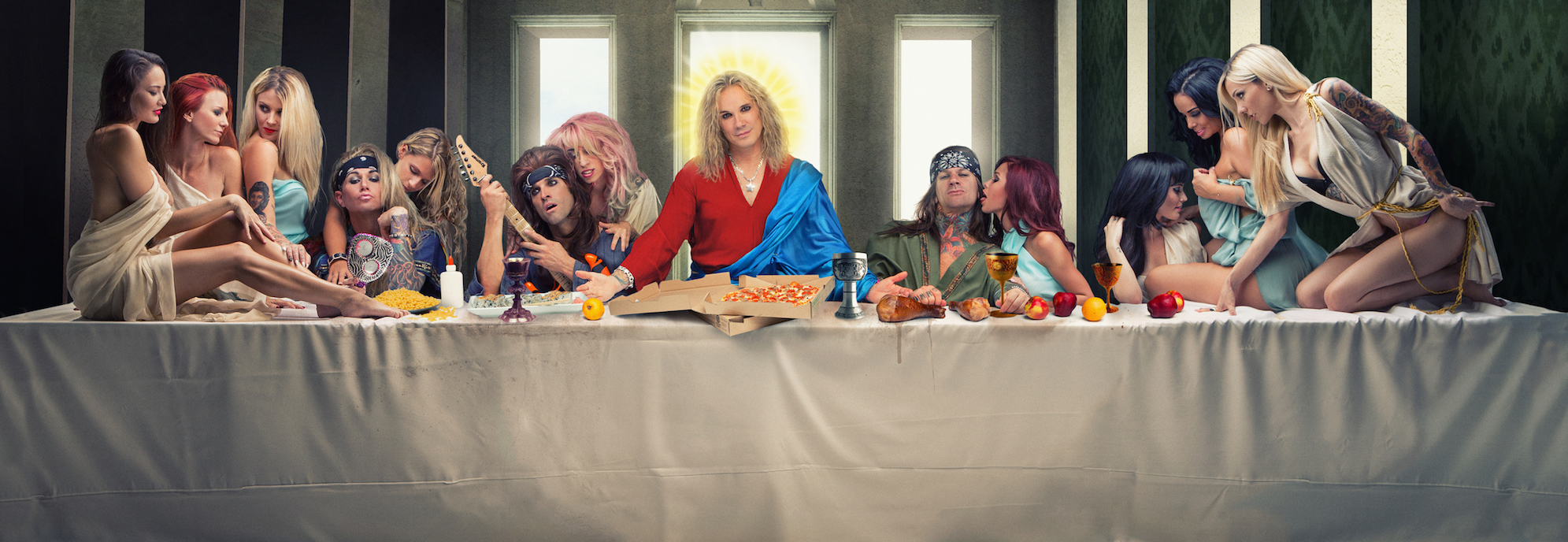 steel panther as themselves