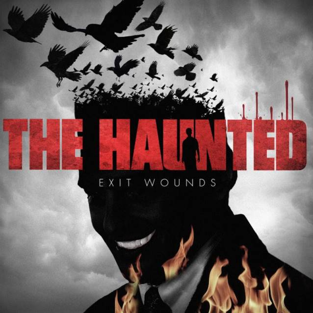 The Haunted Exit Wounds Cover