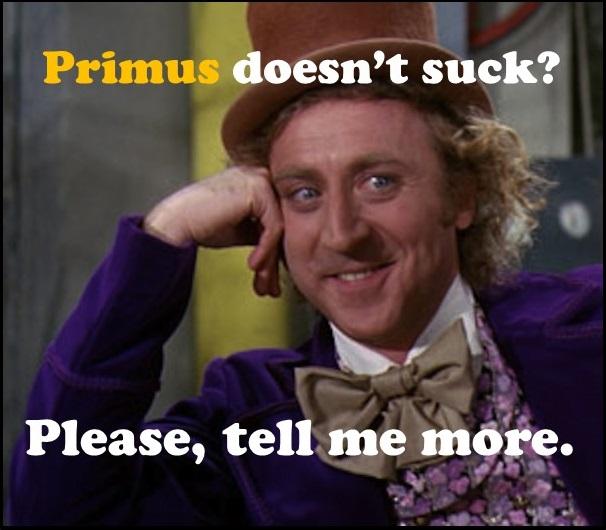 wonka primus