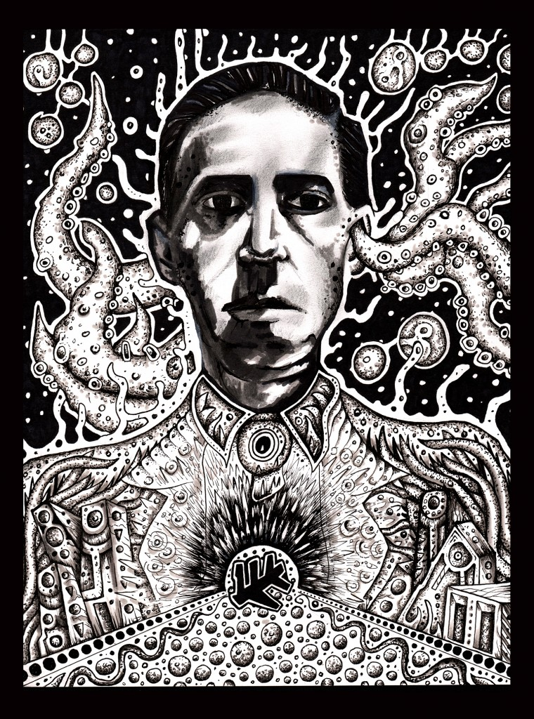 lovecraft by jeff grimal
