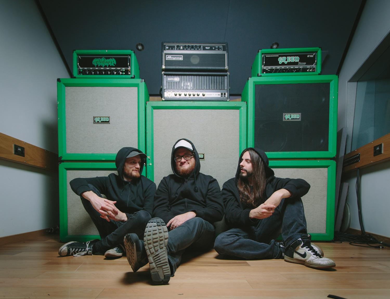 Doom band trio Conan.